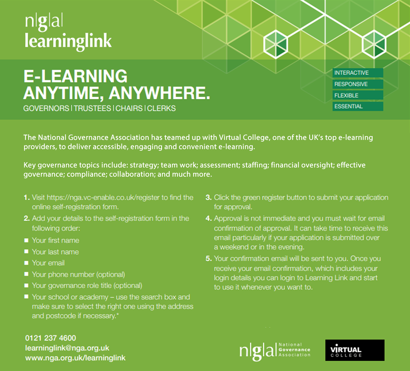 NGA Learning Link