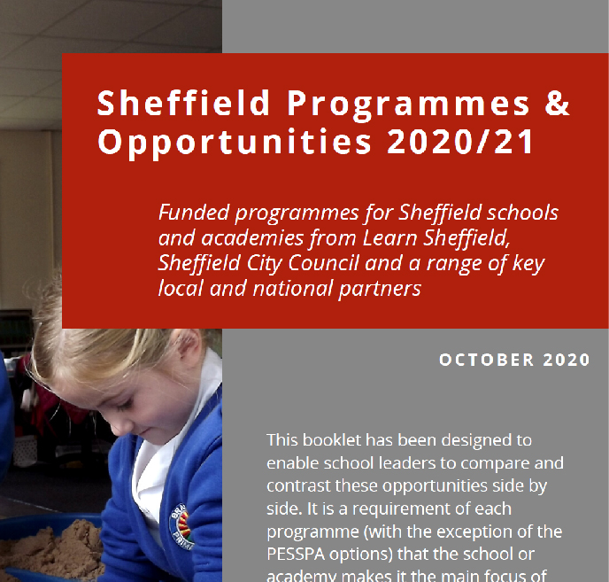 Sheffield Programmes and Opportunities